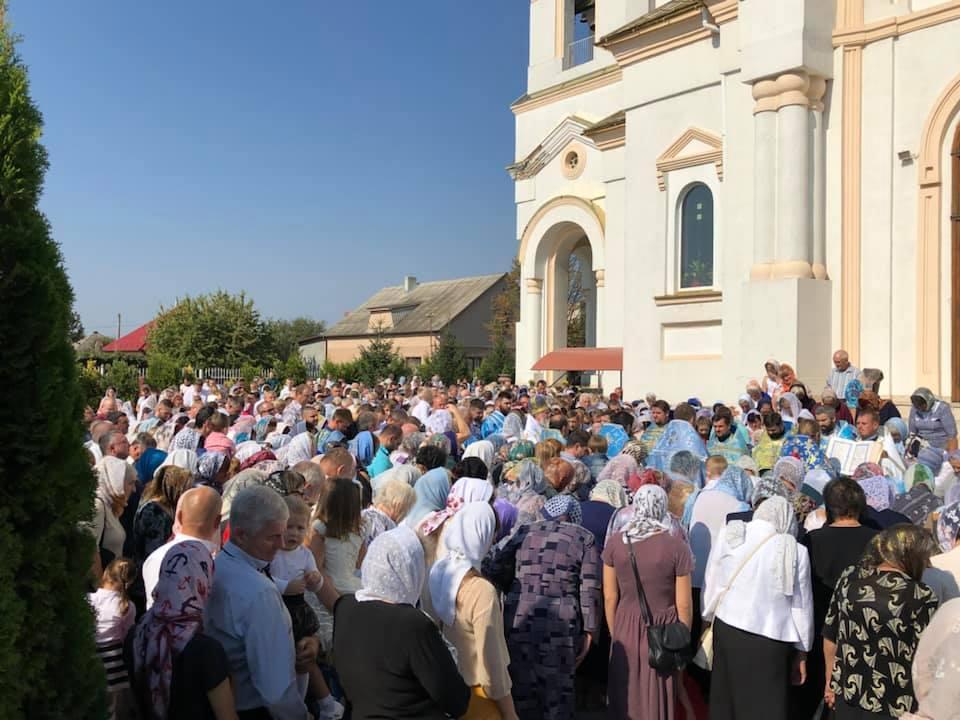 В Мукачевском кафедральном соборе Рождества Богородицы отметили престольный праздник / m-church.org.ua