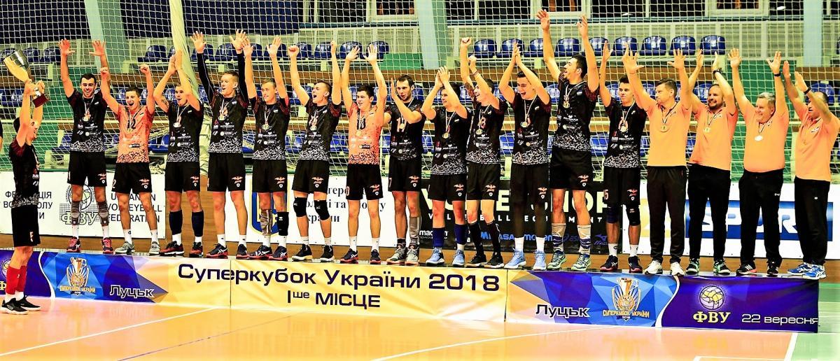 Львовские Барком-Летучие мыши выиграли Суперкубок Украины среди мужских команд / fvu.in.ua