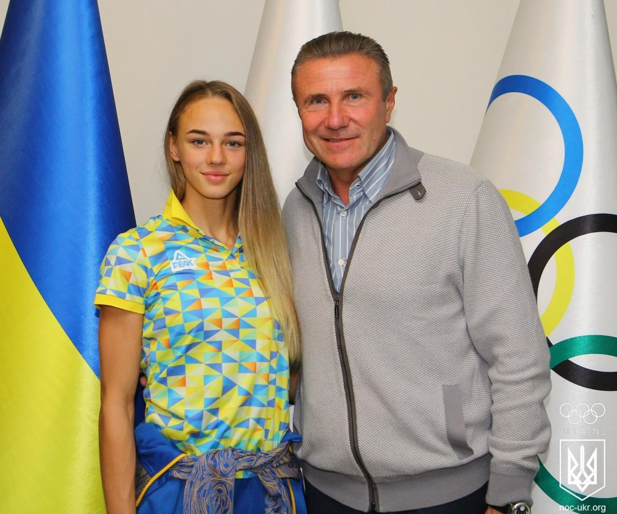 Бубка привітав Білодід з перемогою на чемпіонаті світу / noc-ukr.org