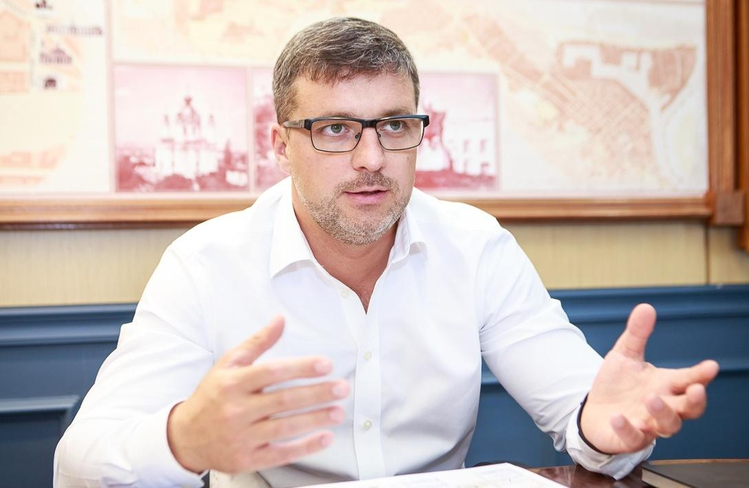 Заместитель главыКГГА Валентин Мондрыивский / Фото kyivcity.gov.ua