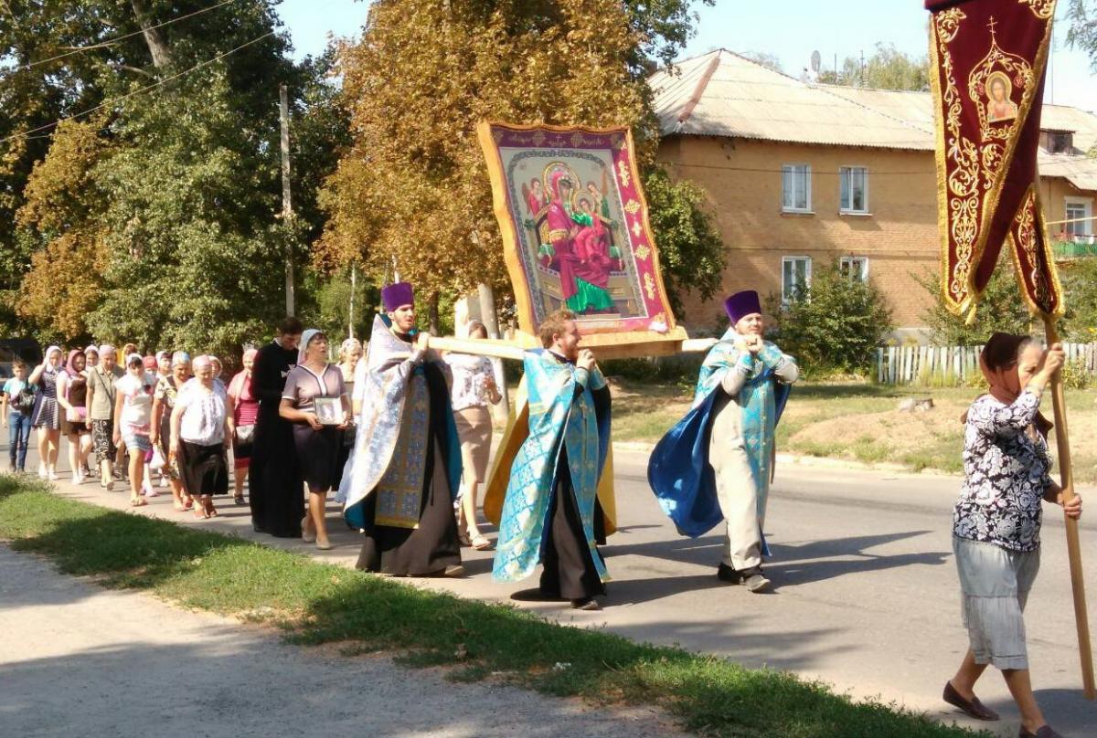 В Александрии православные совершили крестный ход / orthodox-kr.org.ua