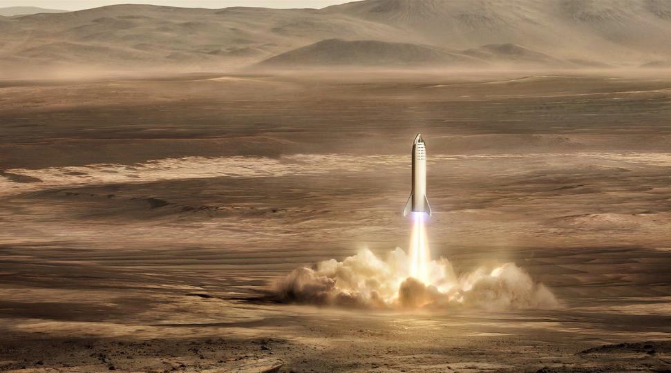 По мнению Митио Каку, человечество скоро сможет колонизировать Марс / @elonmusk