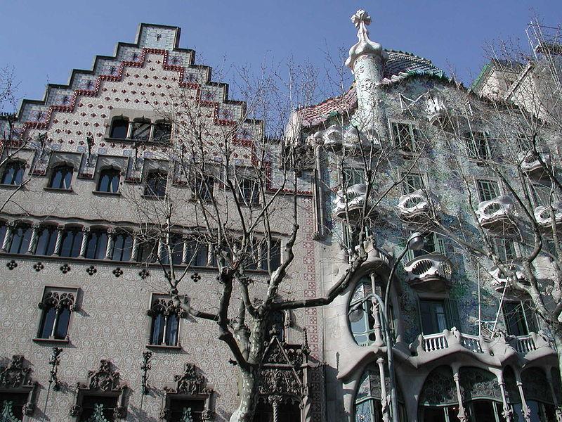 Дом Амалье и дом Бальо / Фото wikipedia.org