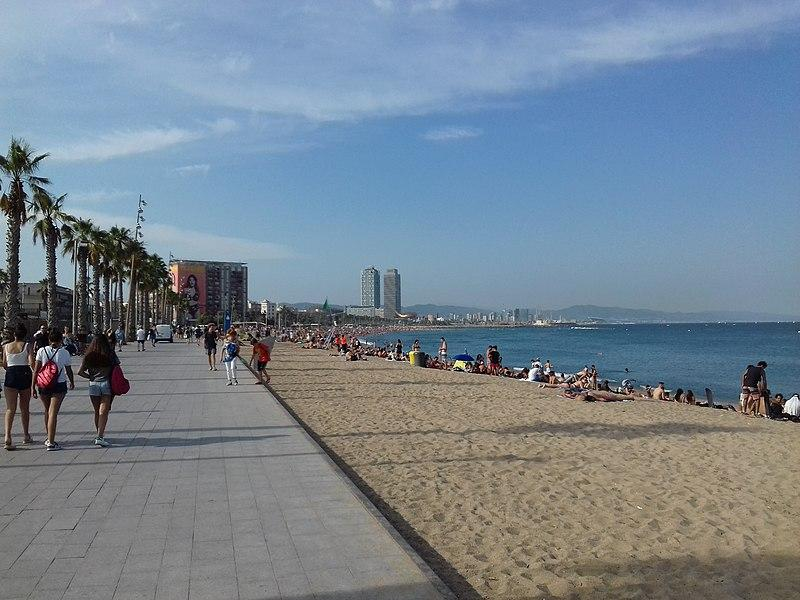 Пляж Барселонетта / Фото wikipedia.org