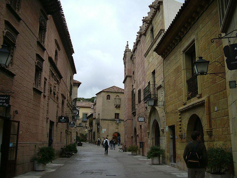 """""""Испанская деревня"""" в Барселоне / Фото wikipedia.org"""