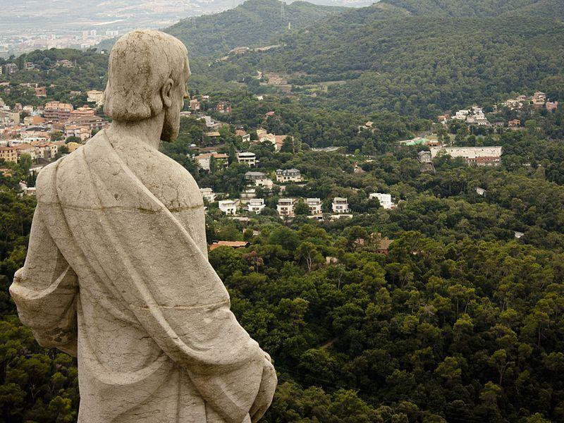 Гора Тибидабо в Барселоне / Фото wikipedia.org