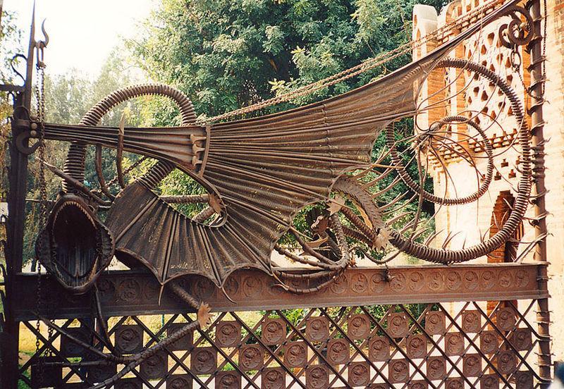 Ворота виллы Гуэля авторства отца и сына Гауди / Фото wikipedia.org