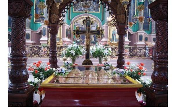 З Вільнюса на Закарпаття привезли мощі / m-church.org.ua
