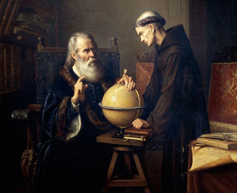 Идеи Галилея считались еретическими, и он прожил последние девять лет под домашним арестом / nature.com