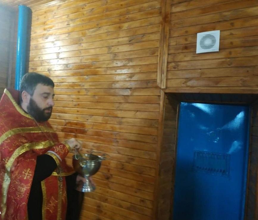 Одесские священники помогли открыть и обустроить спортзал для заключенных/ eparhiya.od.ua