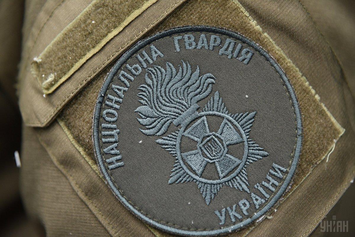 Нацгвардейцыприменили оружие для задержания нарушителя / фото УНИАН