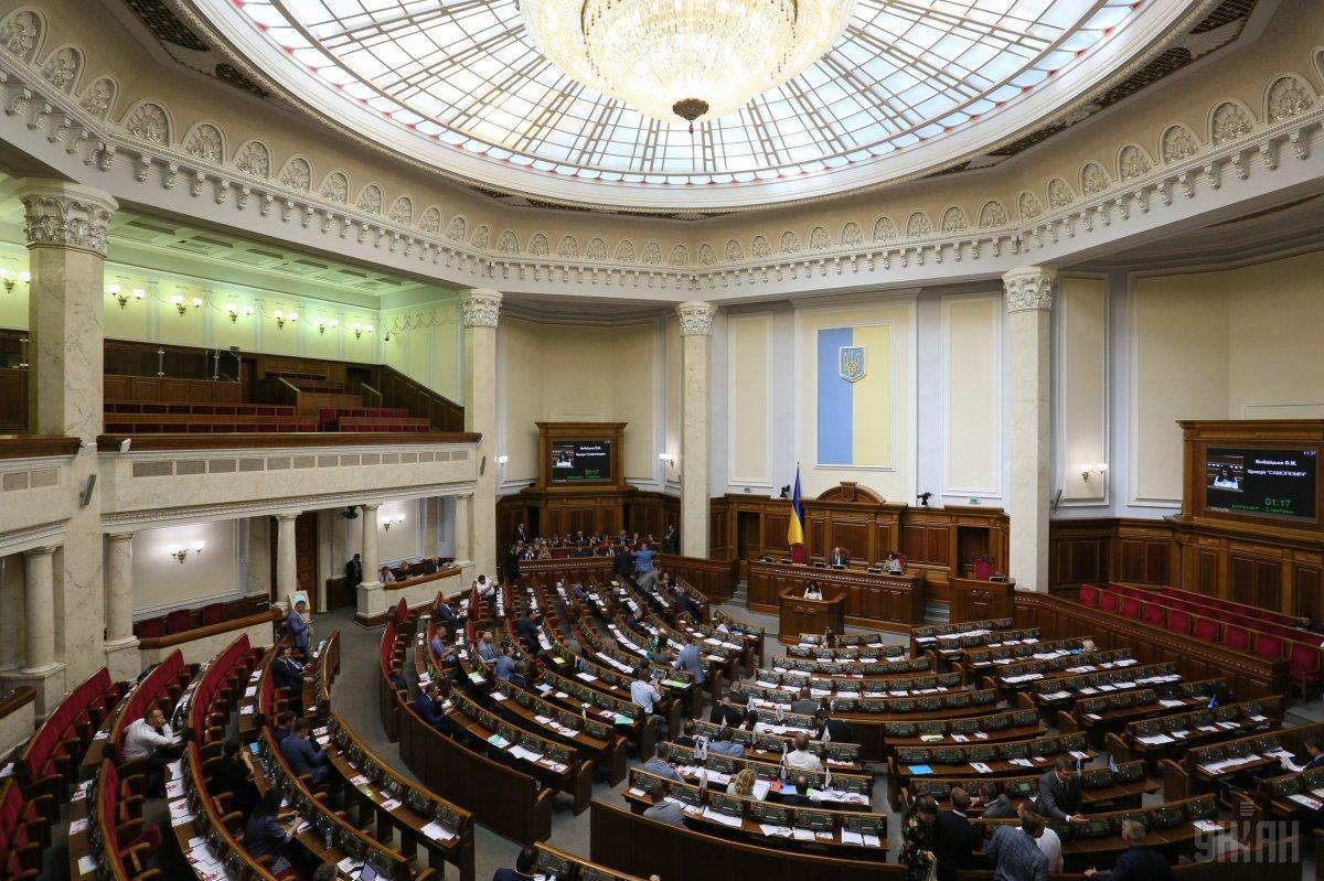 Закон об уголовных проступках поддержали 239 народных депутатов / фото УНИАН