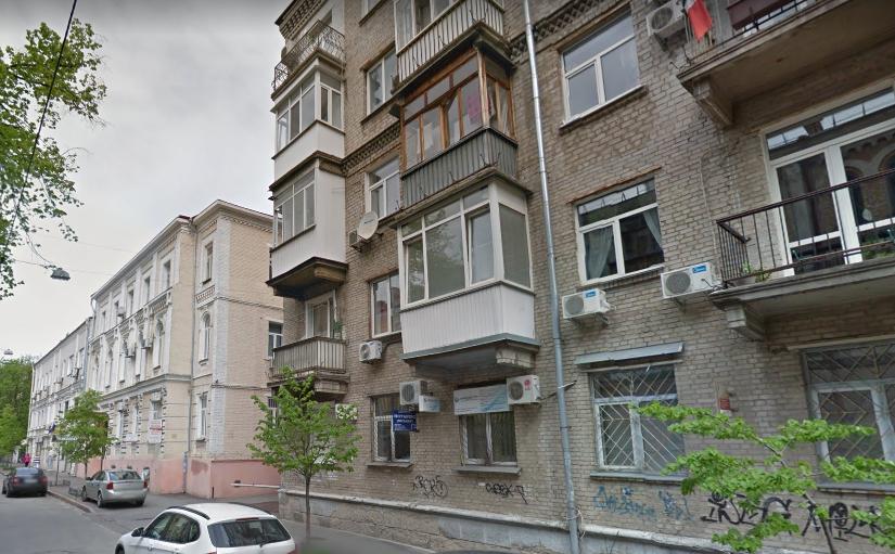 Улица Рейтарская / скриншот Google Maps