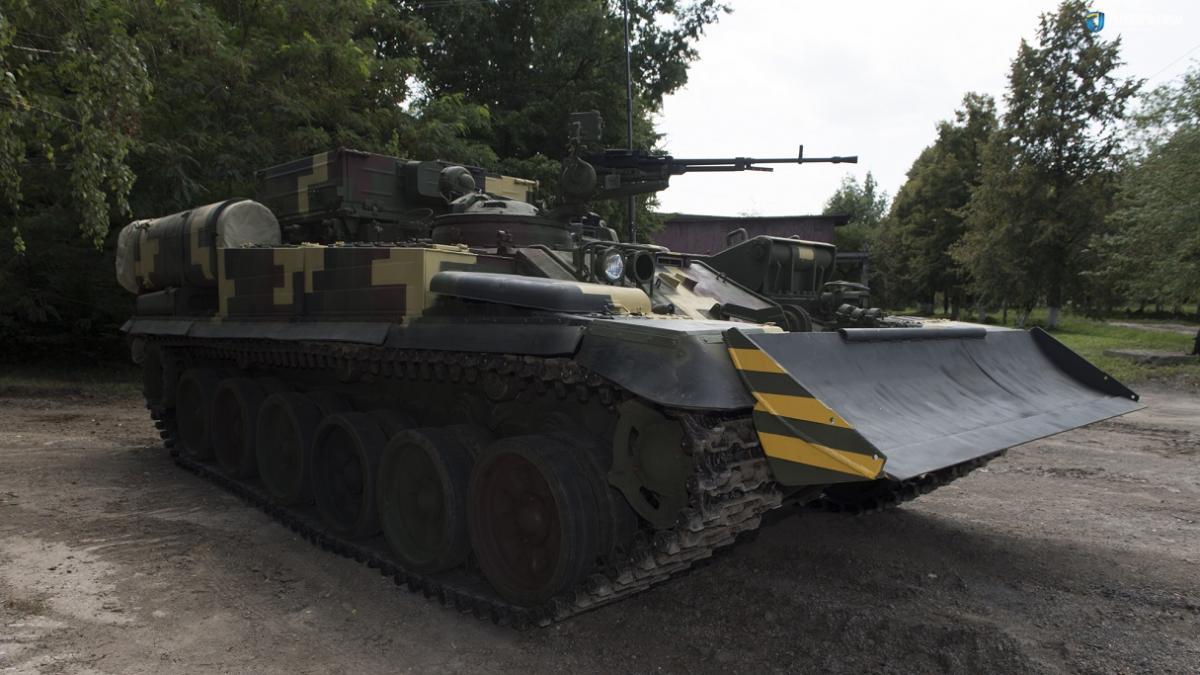 Бронемашина создана на базе танка Т-72 / ukroboronprom.com.ua