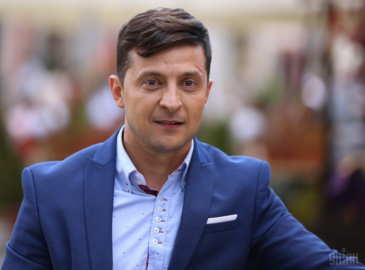 """Зеленський разом із """"95-м кварталом"""" у п'ятницю прибув до Львова/ УНІАН"""