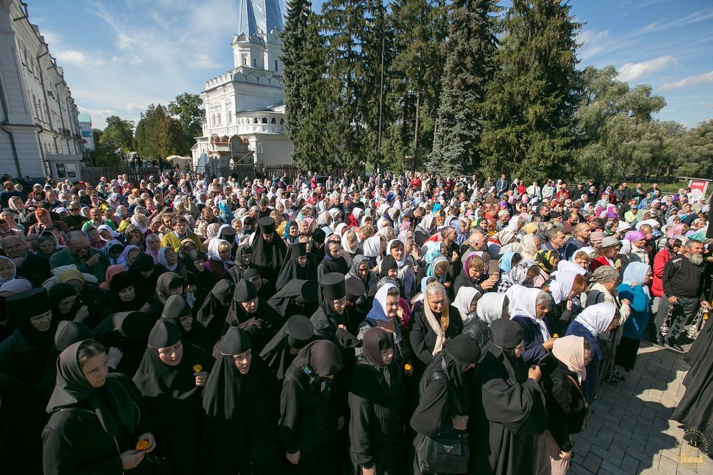 У Святогірській лаврі відбулися урочистості / svlavra.church.ua