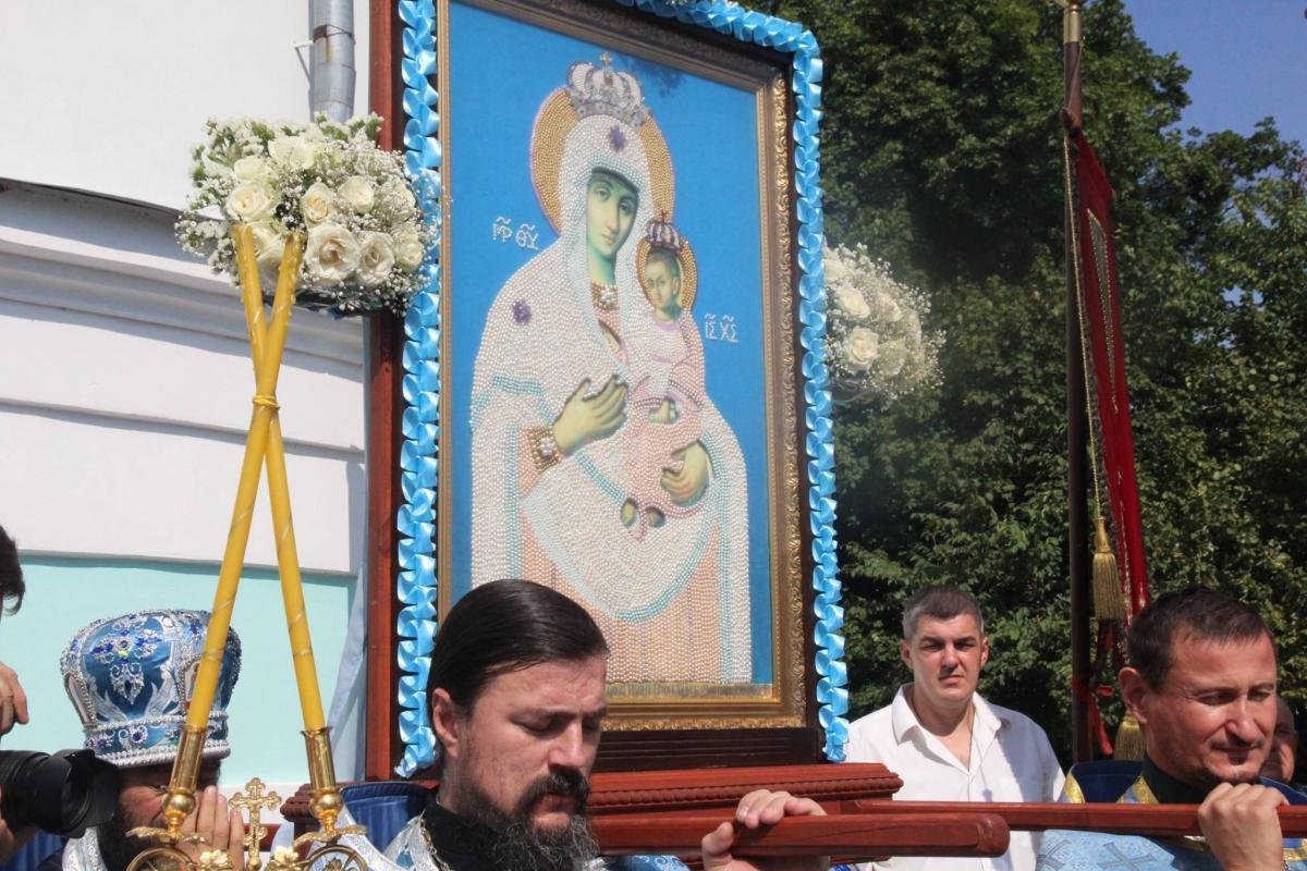 Вшанування чудотворного образу Божої Матері «Тригірська» / zhytomyr-eparchy.org