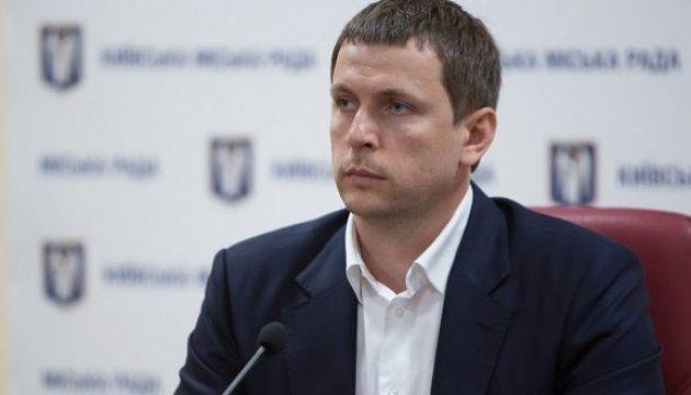 Директор Департамента транспортной инфраструктуры КГГА Сергей Симонов / фото КГГА