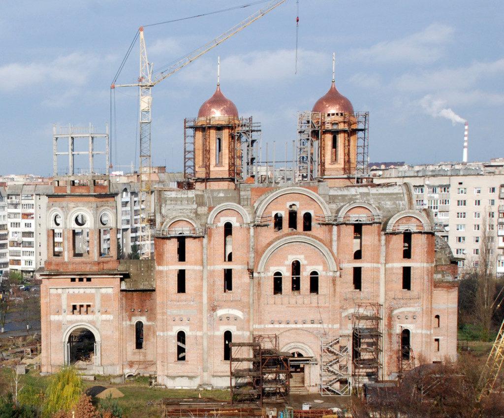 Кафедральний собор Всіх Святих Землі Волинської будується у Луцьку вже майже двадцять років / sobor-vs.church.ua