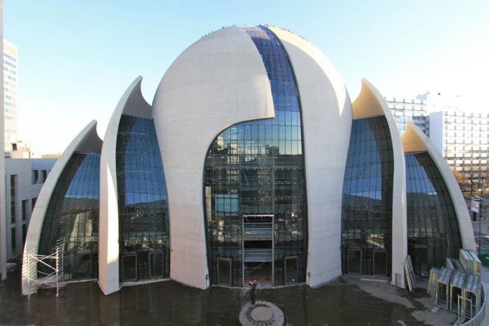 Центральна мечеть Кельна стане найбільшою і найсучаснішою не тільки в Німеччині, але і у всій Європі / thearchitect.pro