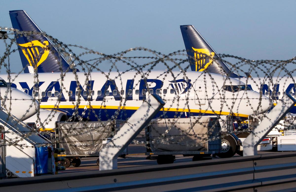 Бортпроводники Ryanair устроили очередную масштабную забастовку / Иллюстрация REUTERS