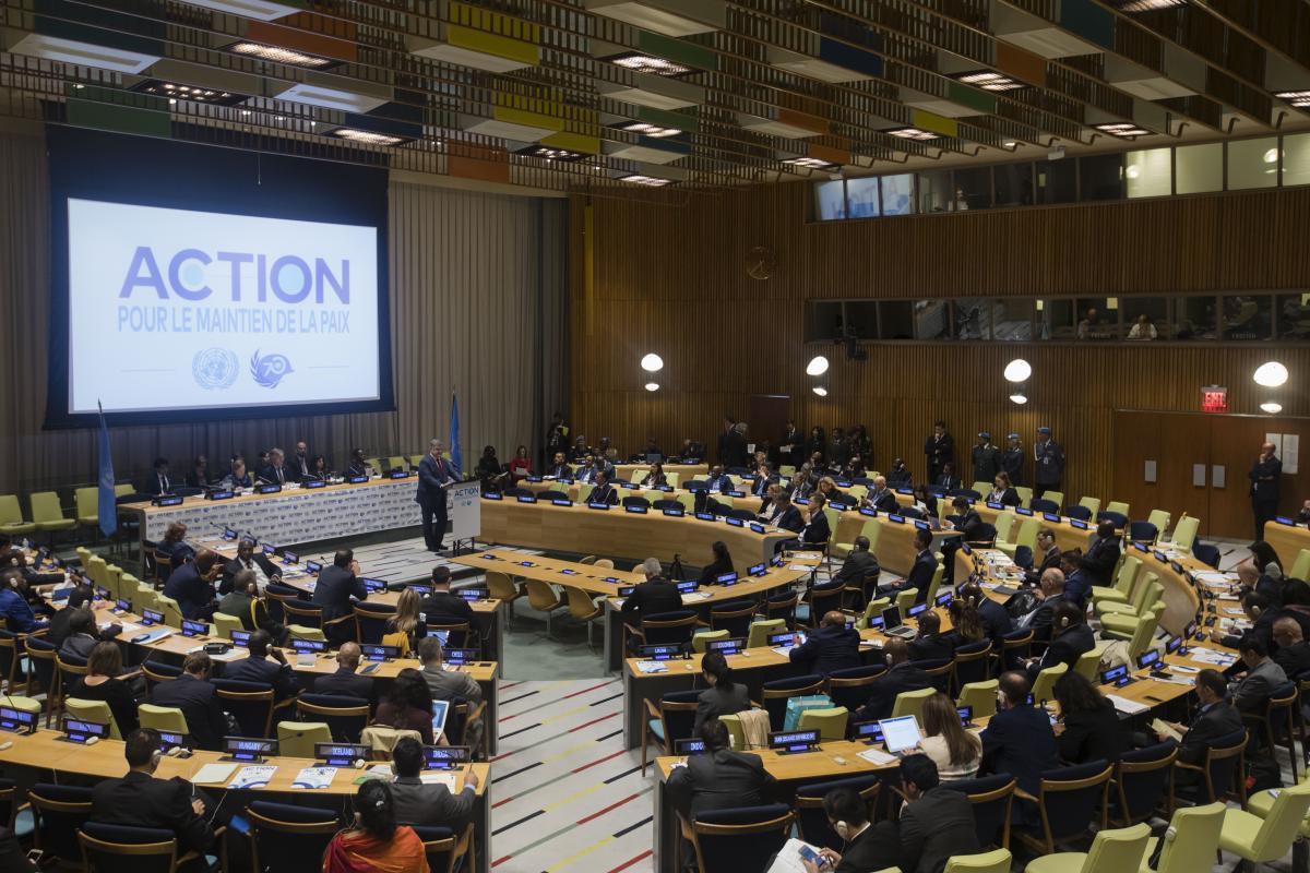 Новое качество миротворчества должна соответствовать мировым ожиданиям и чаяниям / фото president.gov.ua