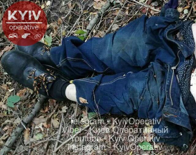 Труп нашли на Троещине / фото facebook.com/KyivOperativ