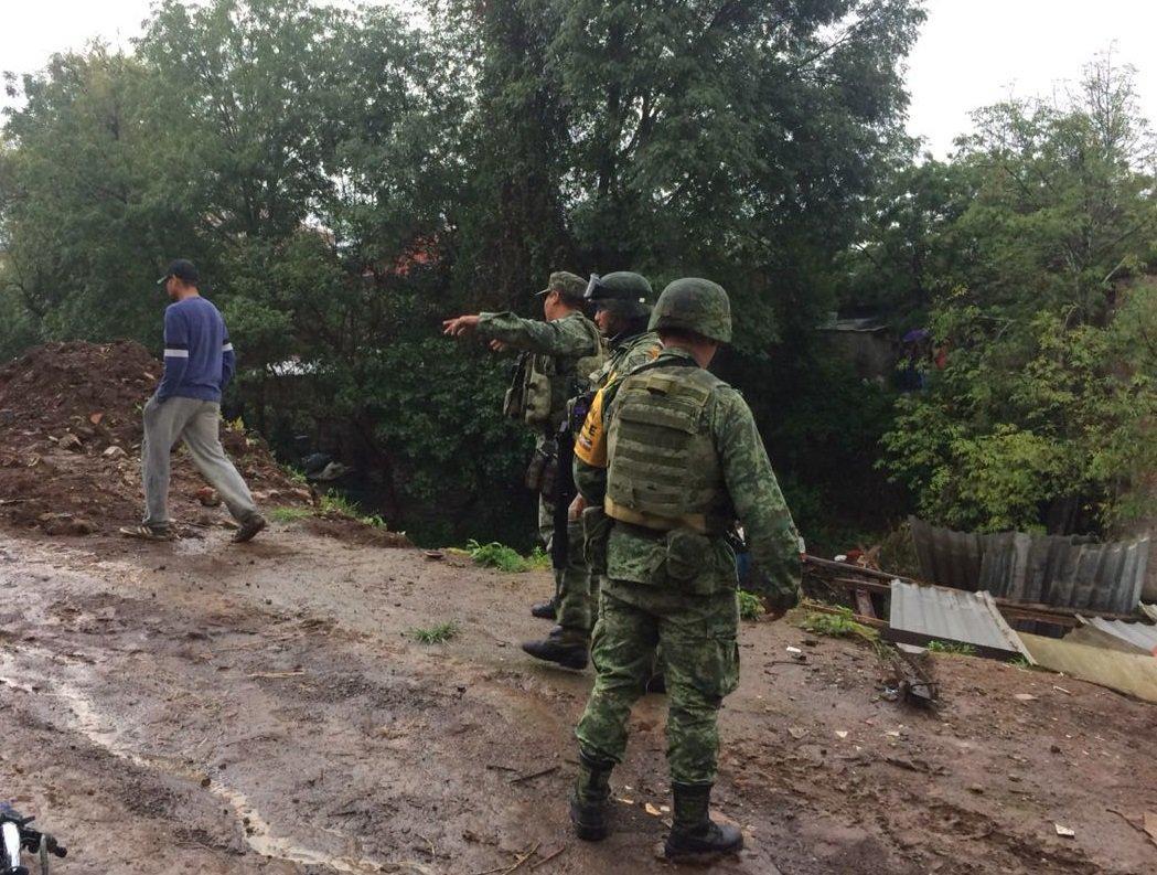 Последствия наводнения в Мексике / twitter.com/SEDENAmx