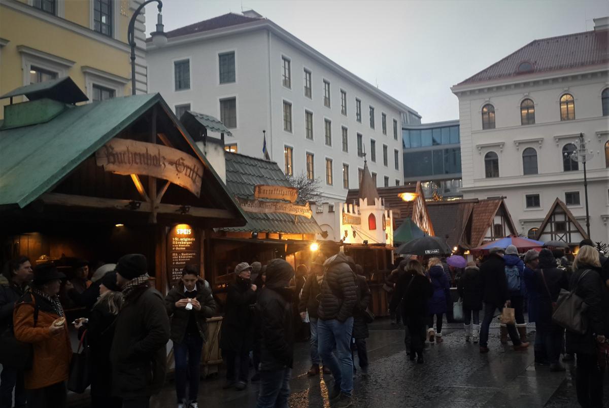 Ярмарка в средневековом стиле в Мюнхене / Фото Марина Григоренко