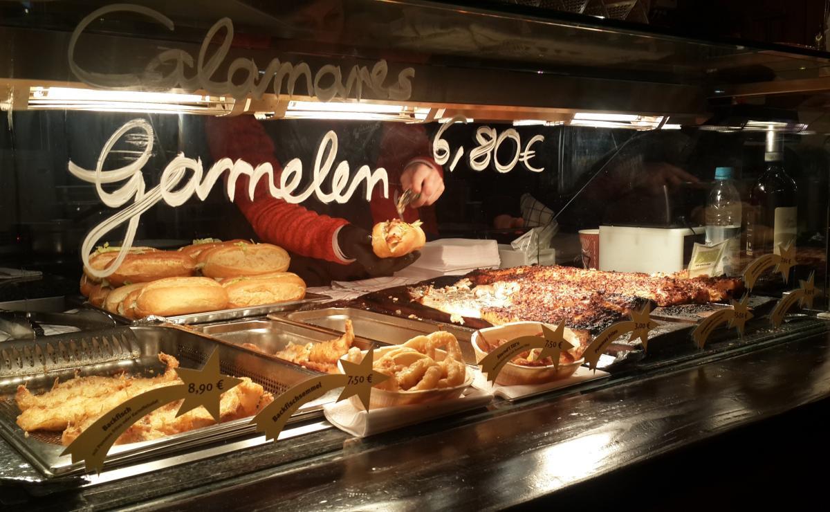 Широко популярны также блюда из рыбы / Фото Марина Григоренко
