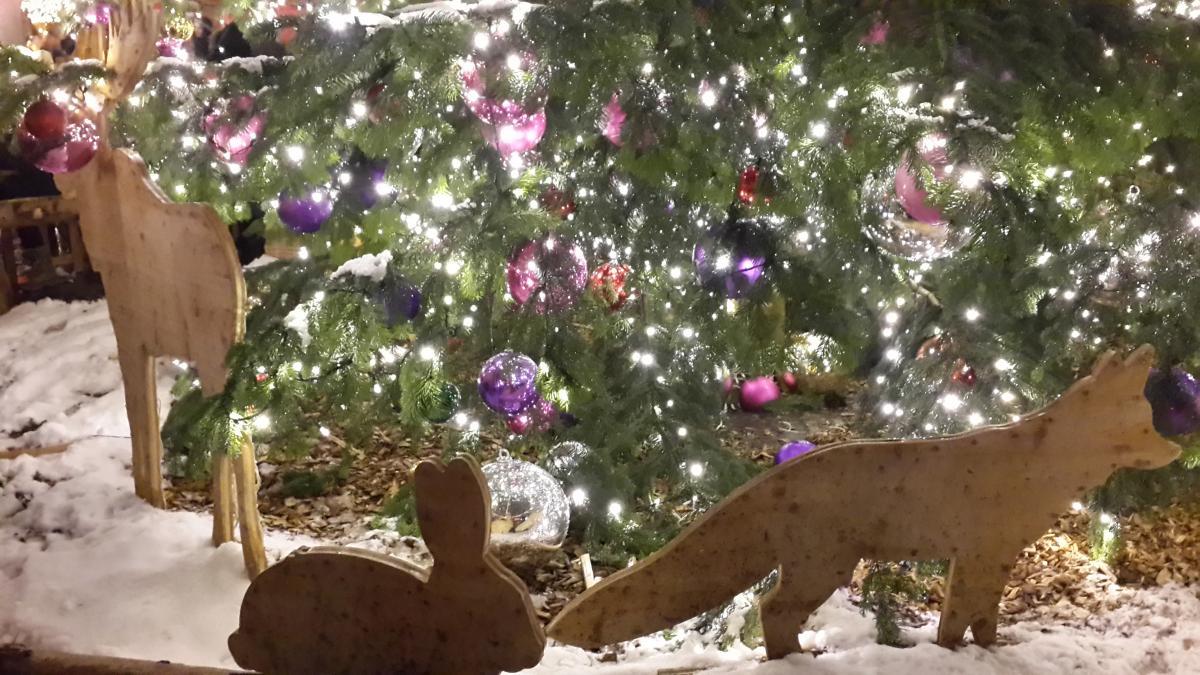 Оформление рождественских ярмарок в Европе / Фото Марина Григоренко