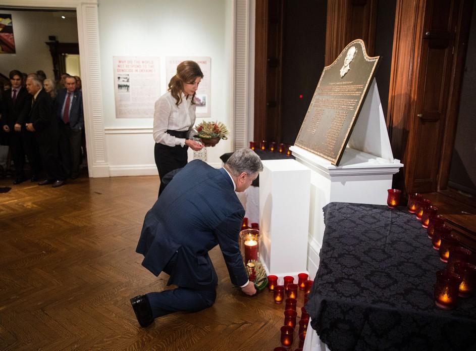 Дружина Порошенка постала у класичних стриманих образах / фото president.gov.ua
