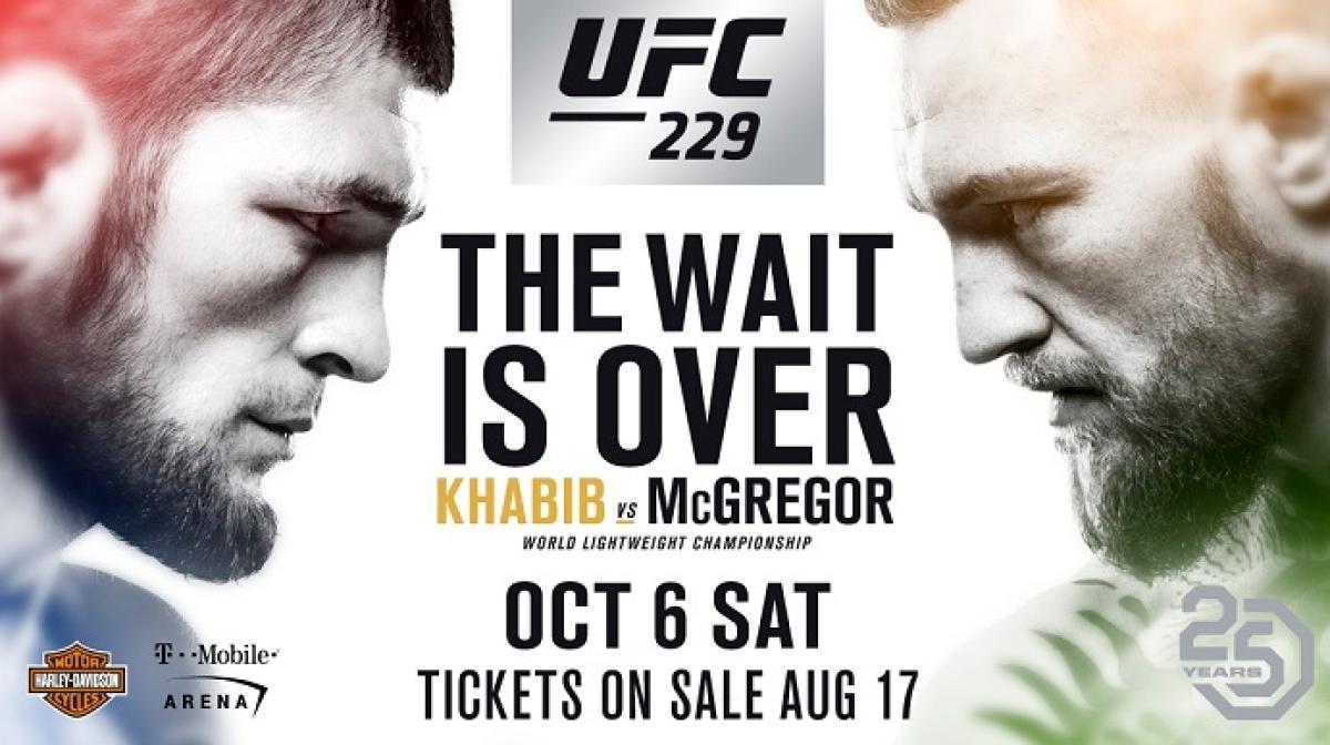 Нурмагомедов и МакГрегор сойдутся в ринге в ночь на 7 октября / ringside24.com