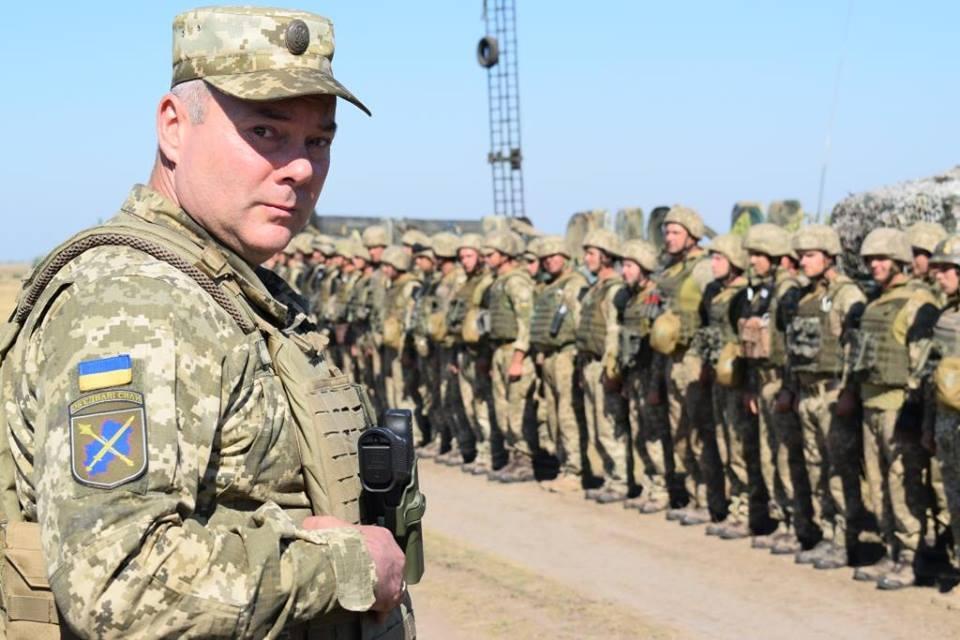 К обеспечению общественной безопасности и порядка в Украине присоединятся военные ВСУ / фото пресс-центр штаба ООС