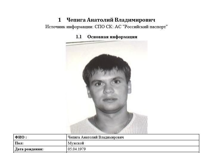Настоящее имя Руслана Боширова - Анатолий Чепига / фото theins.ru