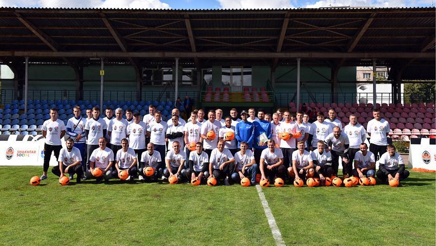 Шахтер начал обучение тренеров массового детского футбола по методикеLa Liga |shakhtar.com