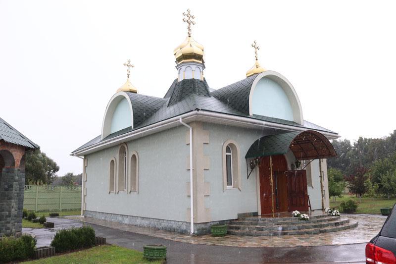 Под Киевом освятили новый православный храм / mitropolia.kiev.ua
