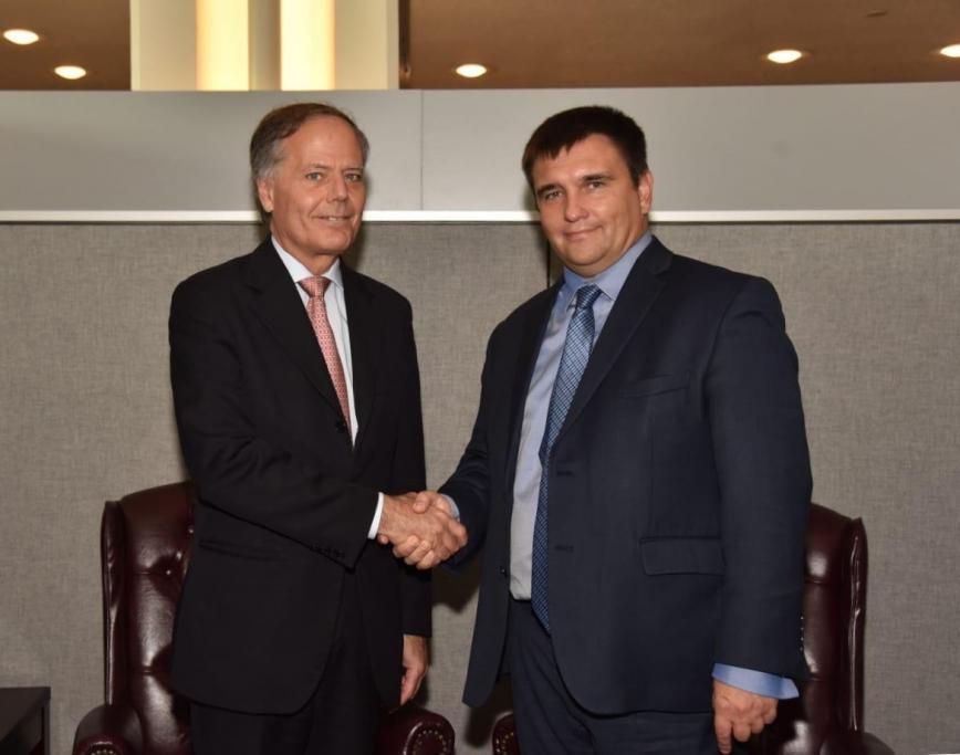 Стороны договорились о дальнейших шагахпо развитию двусторонних отношений / фото mfa.gov.ua