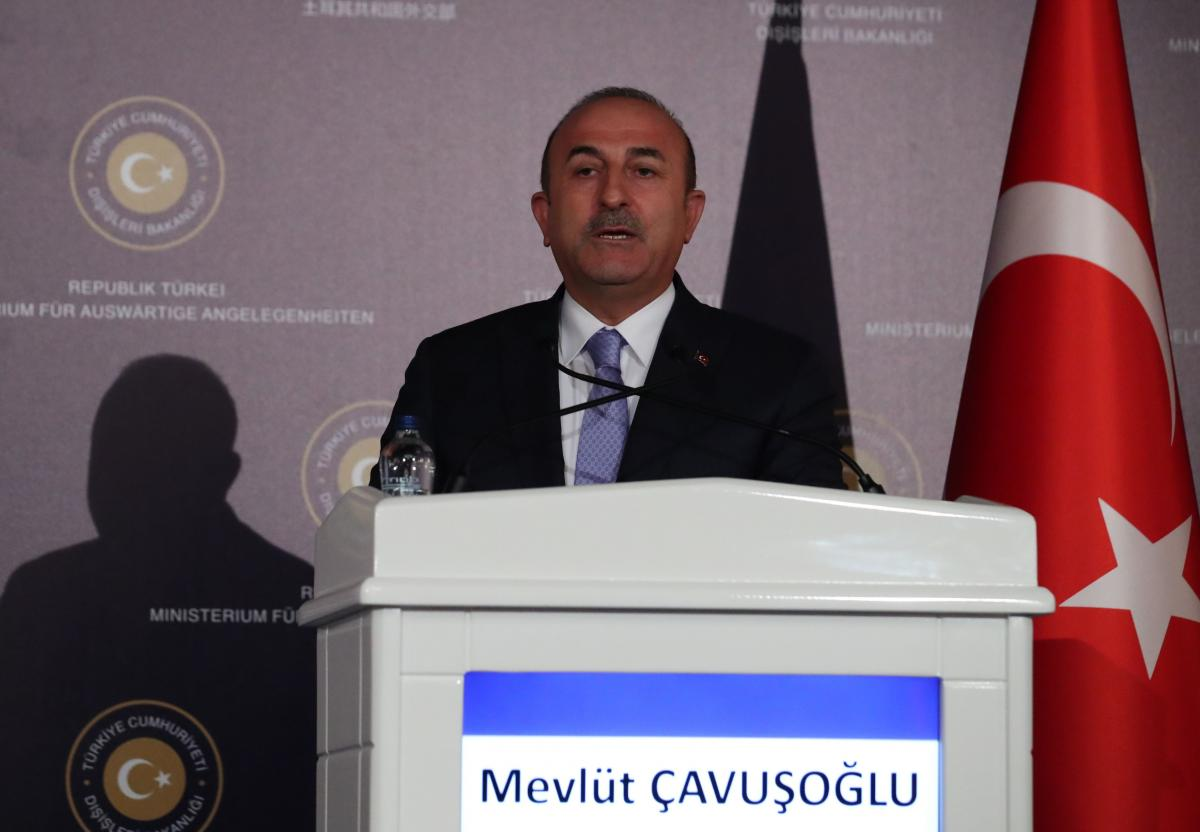 Глава турецкого МИД Мевлет Чавушоглу /REUTERS