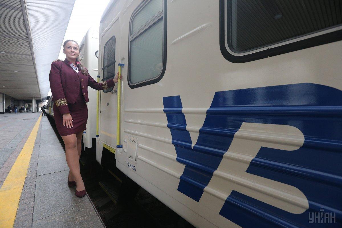 По маршруту Киев-Минск-Вильнюс-Рига будут курсировать обновленные поезда / Фото УНИАН