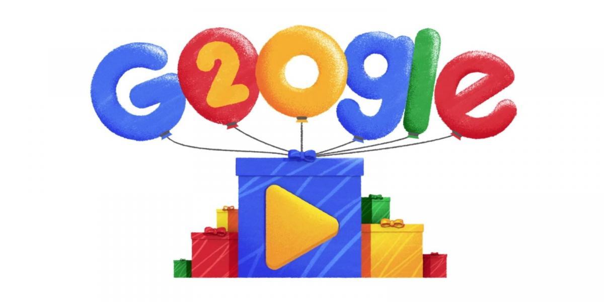 Сегодня компания Google празднует свое двадцатилетие / фото google.com
