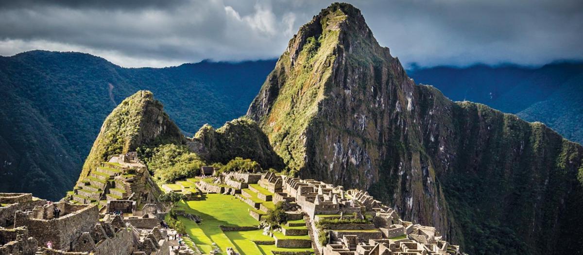 Таинственный город инков Мачу-Пикчу / Фото National Geographic