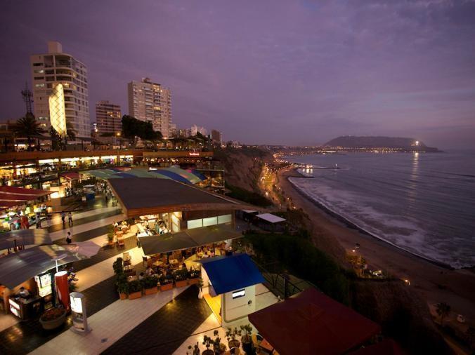 Лима - столица Перу / Фото National Geographic
