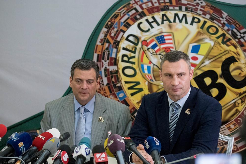 Киев становится боксерской столицей, заявил Кличко / kyivcity.gov.ua
