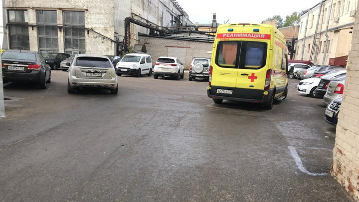 На заводі в Санкт-Петербурзі стався вибух / фото topspb.tv