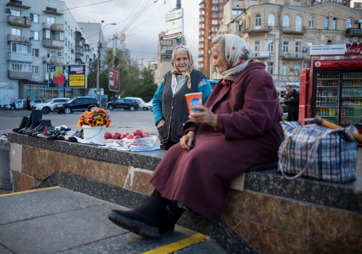 Очікується ще кілька етапів підвищення пенсій в Україні / Ілюстрація REUTERS