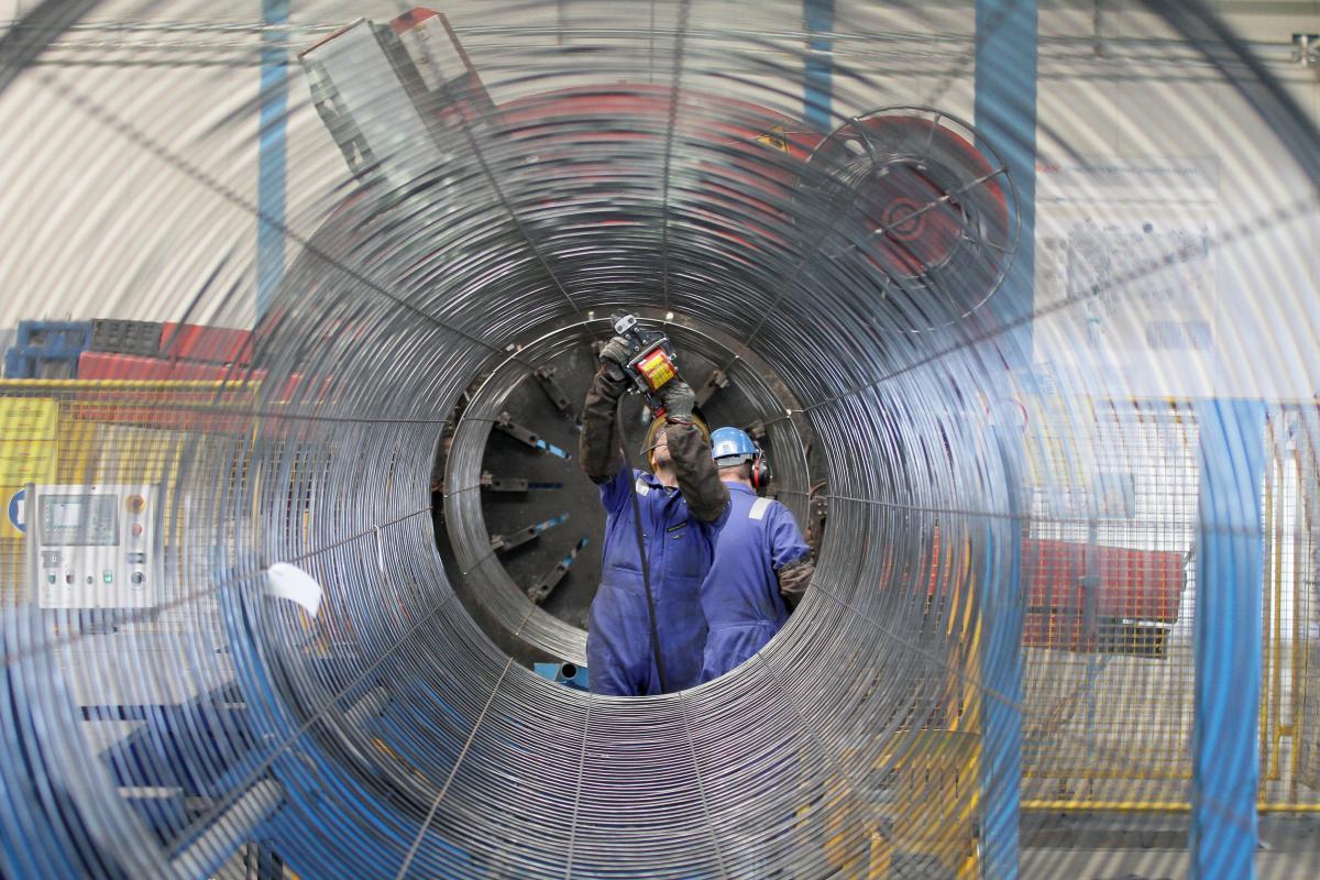 """Будівництво """"Північного потоку-2"""", ілюстрація / REUTERS"""