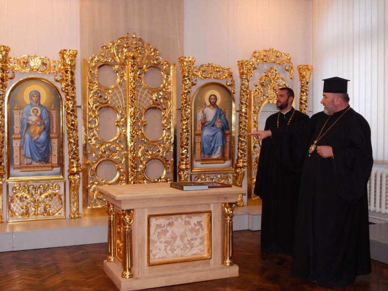 На выставке впервые представленфрагмент иконостаса для церкви Рождества Пресвятой Богородицы / hutsul.museum