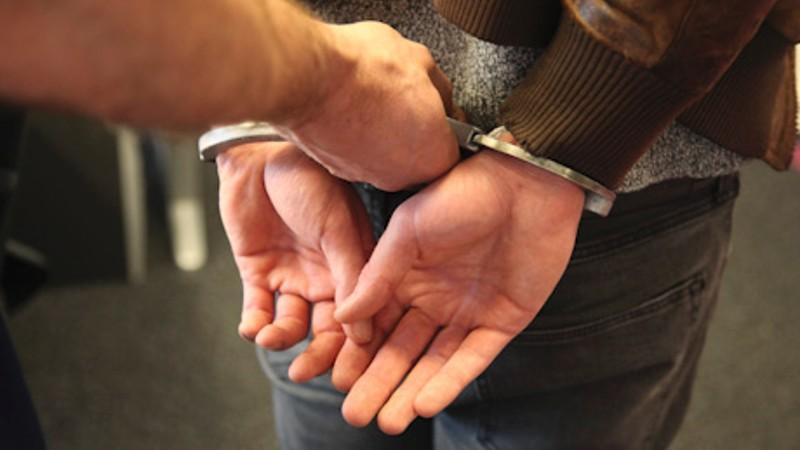 Затриманого провокатора доставили до відділу поліції / фото politie.nl