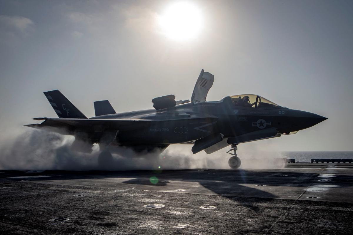 Винищувач F-35B / REUTERS